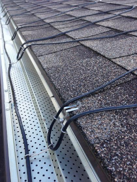 Malta Seamless Gutters Roof Heating Cables